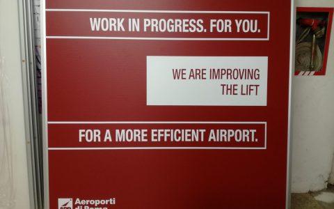 Cliente: Grivan Group Pannelli per Aeroporto di Roma - Fiumicino